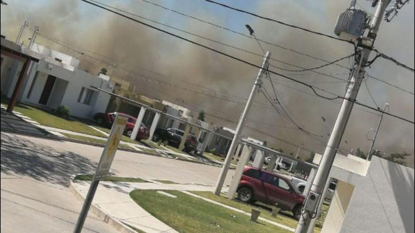 Resultado de imagen para incendio G77 norte