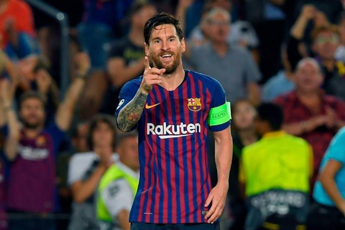 El astro argentino Leo Messi disputó este miércoles ante el Leganés en la  6ª jornada de la Liga española su partido 700 con la camiseta del Barcelona ccbaac20077