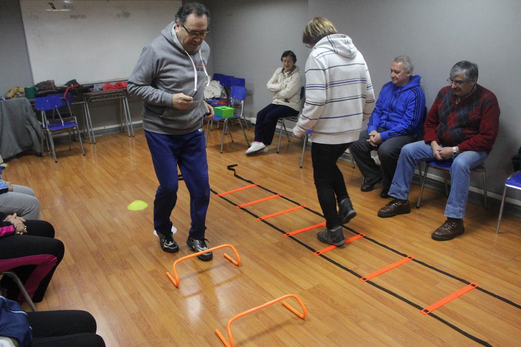 Organizan Juegos Recreativos Para Adultos Mayores Radio Exito